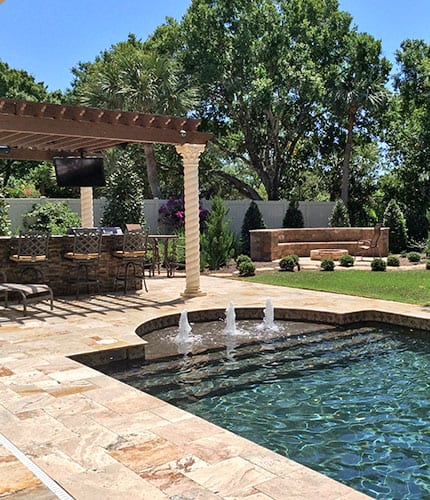 Pool Remodeling Pompano Beach Backyard Renovation Deerfield Beach Pool Patio Design