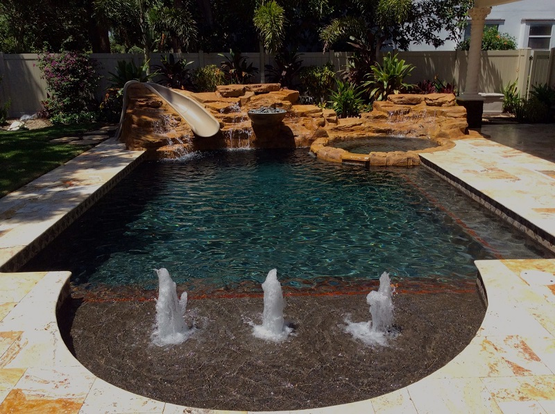 pool resurfacing in Pompano Beach